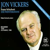 Schubert: Die Winterreise / Jon Vickers, Peter Schaaf