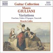 Giuliani: Variations - Folies d'Espagne, etc / Gallén