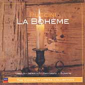 The Compact Opera Collection - Puccini: La Boh&#232;me / Serafin