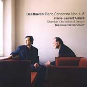 Beethoven: Piano Concertos no 1-5 / Aimard, Harnoncourt