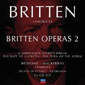 Britten Conducts Britten Operas Vol 2