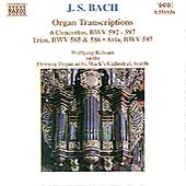 Bach: Organ Transcriptions BWV 592-597, etc / Rübsam