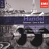Gemini - Handel: Solomon, Love in Bath / Beecham, et al