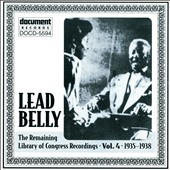 Lead Belly: Leadbelly, Vol. 4: 1935-1938