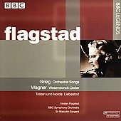 Grieg, Wagner / Flagstad, Sargent, BBC SO