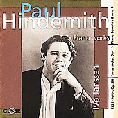 Hindemith: 1922-Suite for Piano, etc / Ivo Janssen