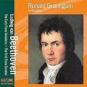 Beethoven: Early Piano Variations, etc / Brautigam