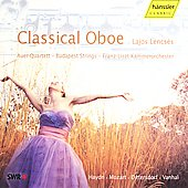 Classical Oboe / Lajos Lencs&eacute;s, Budapest Strings, et al