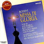Originals - Rossini: Messa di Gloria / Marriner, et al