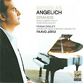 Brahms: Piano Concerto no 1, etc / Angelich, J&auml;rvi, et al