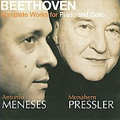 Beethoven: Complete Works for Piano and Cello / Pressler, Meneses