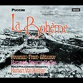 Puccini: La Boh&egrave;me / Karajan, Freni, Pavarotti, et al
