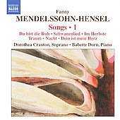 Mendelssohn-Hensel: Songs, Vol. 1