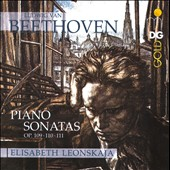 Beethoven: Piano Sonatas Op. 109-111 / Elisabeth Leonskaja