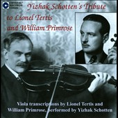 Tribute To Lionel Tertis & William Primrose