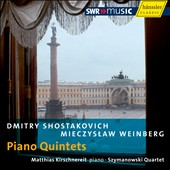 Shostakovich, Weinberg: Piano Quintets / Szymanowski Quartet