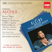 Handel: Alcina / Auger, Jones, Kuhlmann, Harrhy, Kwella