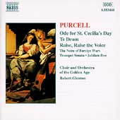 Purcell: Ode for St Cecilia's Day, etc / Glenton, Golden Age