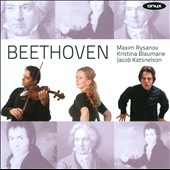 Beethoven: Sonatine; Piano Trio / Maxim Rysanov, Kristine Blaumane, Jacob Katsnelson