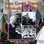 Historical Danish Female Pianists play Liszt, Chopin, etc