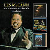Les McCann: The  Gospel Truth/Soul Hits/McCanna *