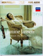 Vivaldi: The Four Seasons / Janine Jansen, violin [Blu-ray Audio]