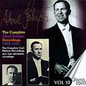 The Complete Aksel Schiotz Recordings Vol 10 - Nielsen
