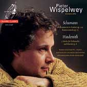 Schumann: Cello Concerto, etc;  Hindemith / Wispelwey, et al