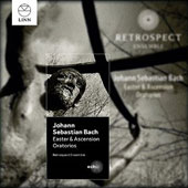 J.S. Bach: Easter & Ascension Oratorios / Carolyn Sampson, soprano; Iestyn Davies, ct; James Gilchrist, tenor; Peter Harvey, bass