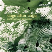 Cage After Cage: Composed Improvisation I & II; Child of Tree; Inlets; 27'10.554