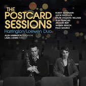 The Postcard Sessions - Works by Warren Benson, Jean Franaix, Jacques Ibert, Paule Maurice, Piazzolla, Schumann & Ralph Vaughan Williams / Harrington/Loewen Duo