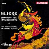 Gliere: Symphony no 3 / Downes, BBC Philharmonic
