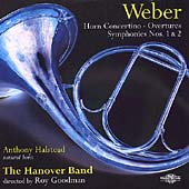 Weber: Overtures, etc / Roy Goodman, Hanover Band