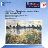 Saint-Sa&#235;ns: Piano Concertos 2 & 4, etc / Entremont, et al