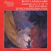 Langgaard: Symphonies no 4, 6, 10 and 14 / Danish RSO, et al