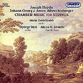 Chamber Music for Strings - Haydn, etc / Zsiri-Szabo, et al
