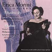 Erica Morini in Concert - Tchaikovsky, Brahms