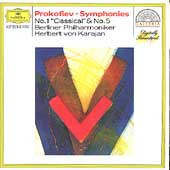 Prokofiev: Symphonies no 1 & 5 / Karajan, Berlin PO