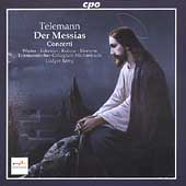 Telemann: Der Messias / Rémy, Winter, Eckstein, Kobow, et al