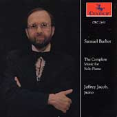 Barber: The Complete Music for Solo Piano / Jeffrey Jacob