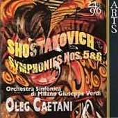 Shostakovich: Symphonies no 5 & 6 / Caetani, et al