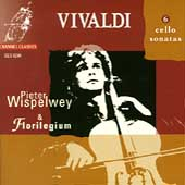 Vivaldi: 6 Cello Sonatas / Pieter Wispelwey, Florilegium