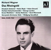 Wagner: Das Rheingold / George London, Elisabeth Schartel, Ingeborg Kjellgren, Karl Sablotzke, Hermann Winkler, Helen Donath, Helga Jenckel (1962)