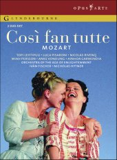 Mozart: Cosi fan tutte / Ivan Fischer/Orch. Of the Age of Enlightenment, Lehtipuu, Pisaroni [2 DVD]