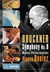 Bruckner: Symphony No. 8 in C minor (Robert Haas edition) / Pierre Boulez, Vienna PO (live, 9/21-22/1996) [DVD]