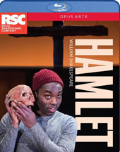 William Shakespeare: Hamlet / Hiran Abeysekera; Paapa Essiedu; Natalie Simpson; Marcus Griffiths; Ewart James Walters; Cyril Nri; James Cooney; Royal Shakespeare Company [Blu-ray]