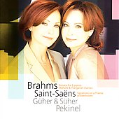 Brahms: Sonata for Two Pianos, etc / Güher & Süher Pekinel