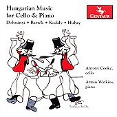 Hungarian Music for Cello and Piano / Cooke, Watkins