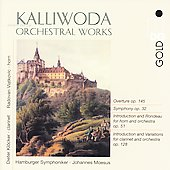 Kalliwoda: Orchestral Works / Moesus, et al