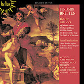 Britten: Five Canticles, Purcell Realisations /Rolfe-Johnson
